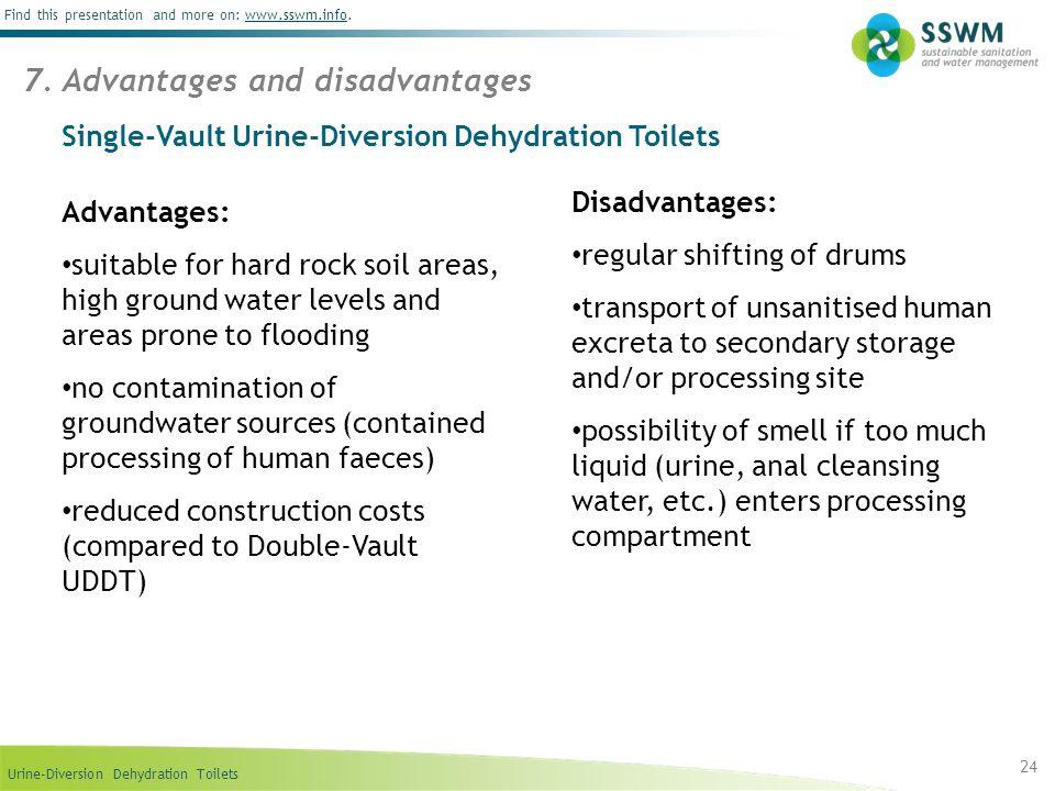 Single-Vault Urine-Diversion Dehydration Toilets