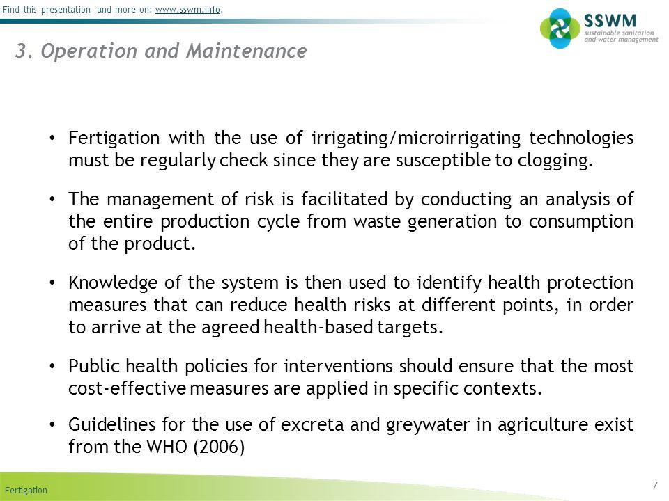 3. Operation and Maintenance