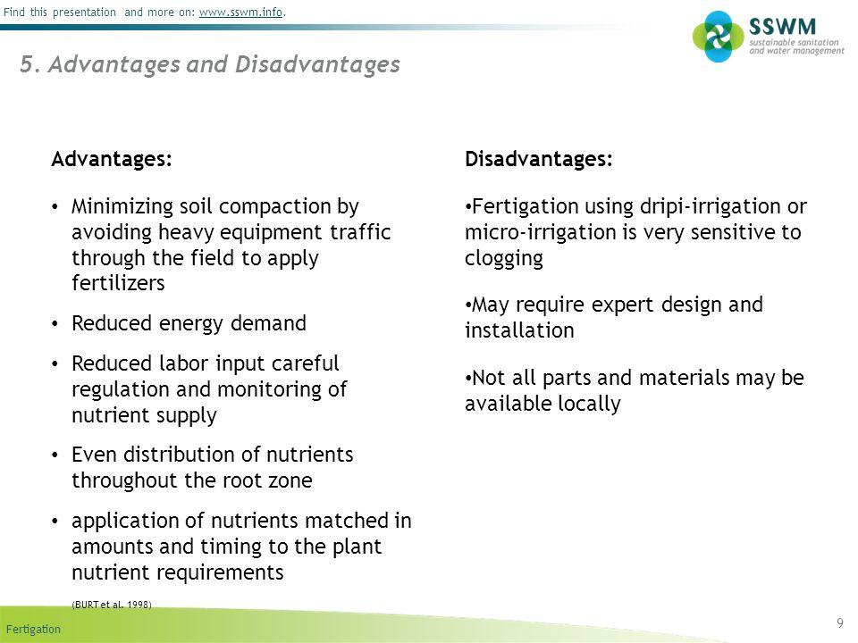 5. Advantages and Disadvantages