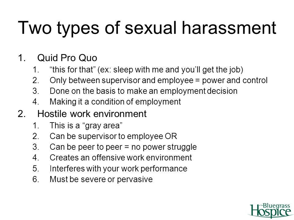 Sexual Harassment In The Workplace - agnygov