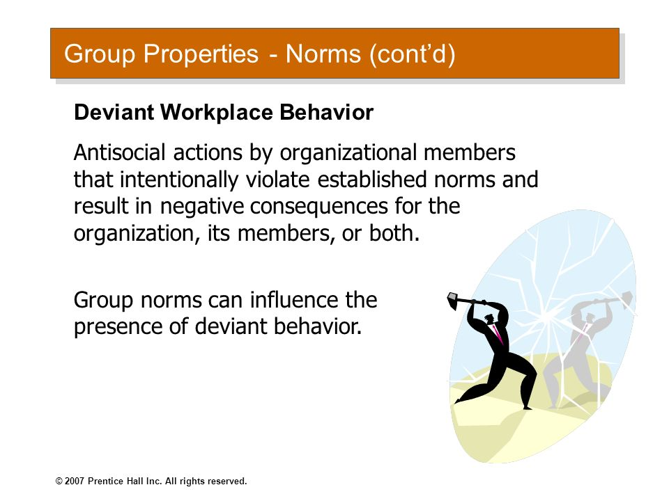 deviant behaviour in the workplace The prevalence and cost of deviant behavior in the workplace to both organizations and employees, contemporary readings in law and social justice 9(1):.