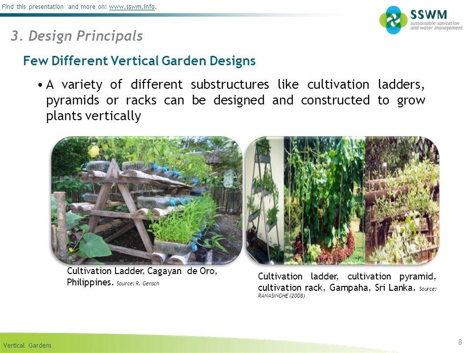3. Design Principals Few Different Vertical Garden Designs