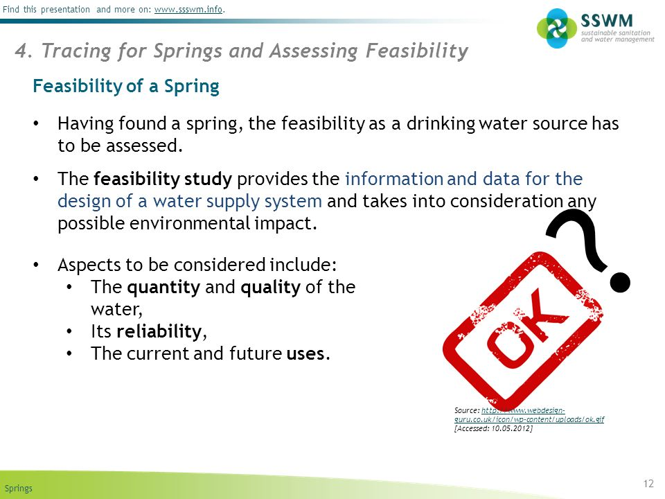 Feasibility of a Spring