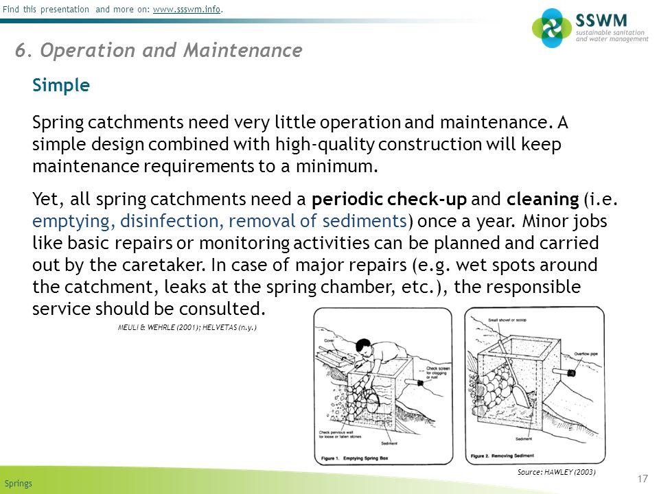 6. Operation and Maintenance
