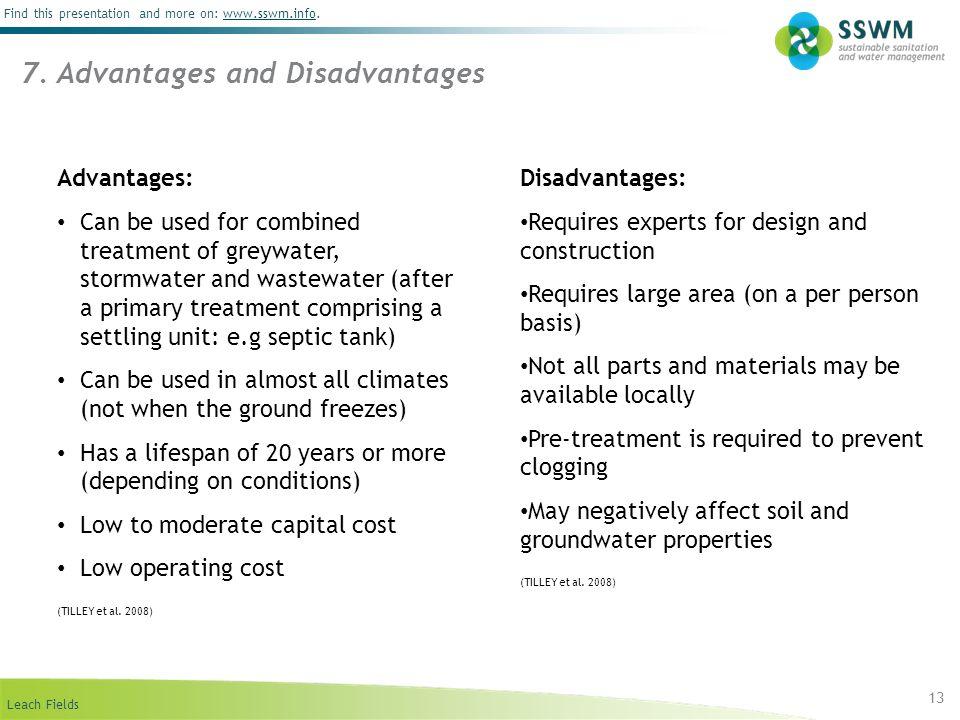 7. Advantages and Disadvantages