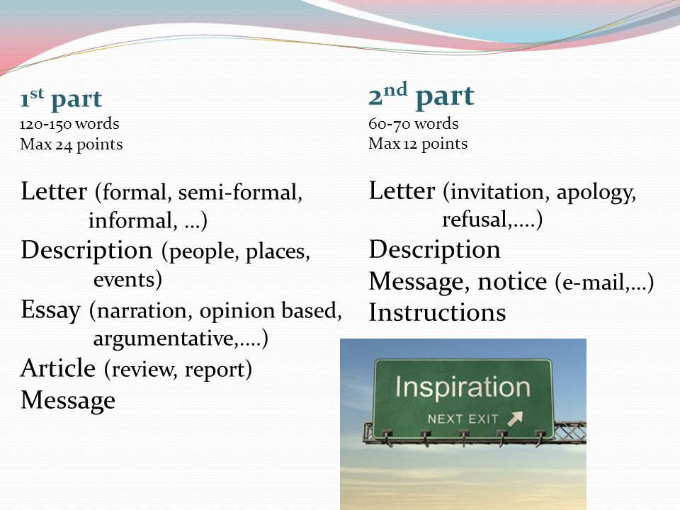 meaning of informal essay A formal essay has an opening paragraph that tells the reader what you're going to tell him it has at least 3 paragraphs to elaborate on what you.