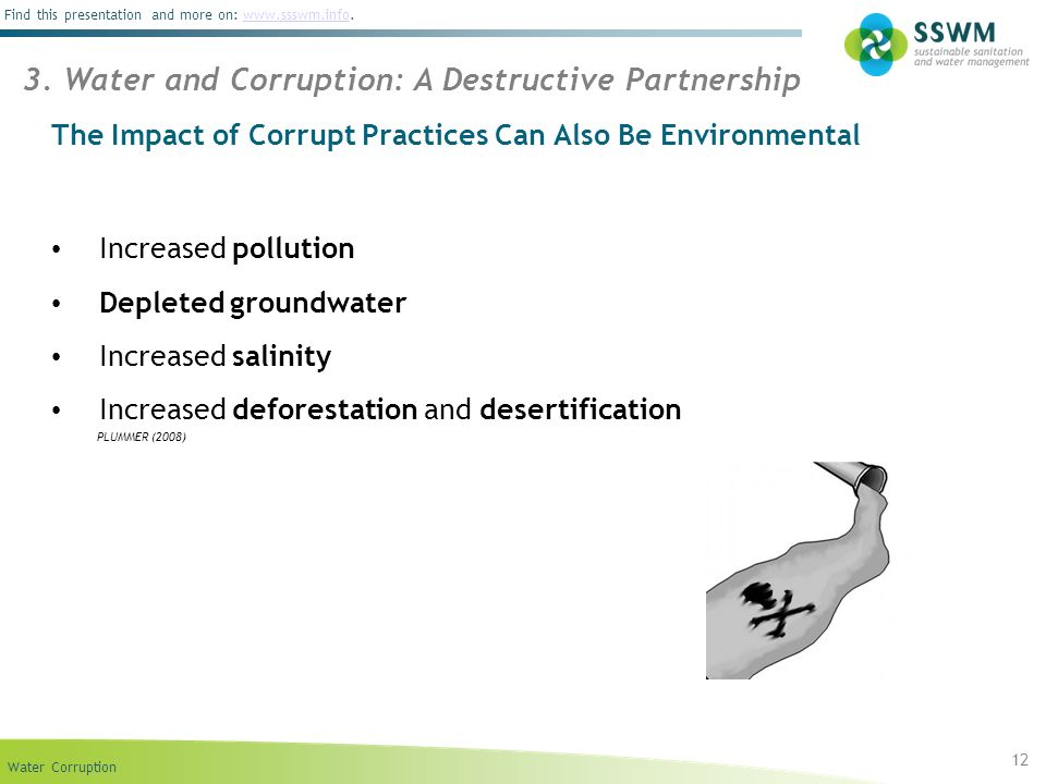 The Impact of Corrupt Practices Can Also Be Environmental