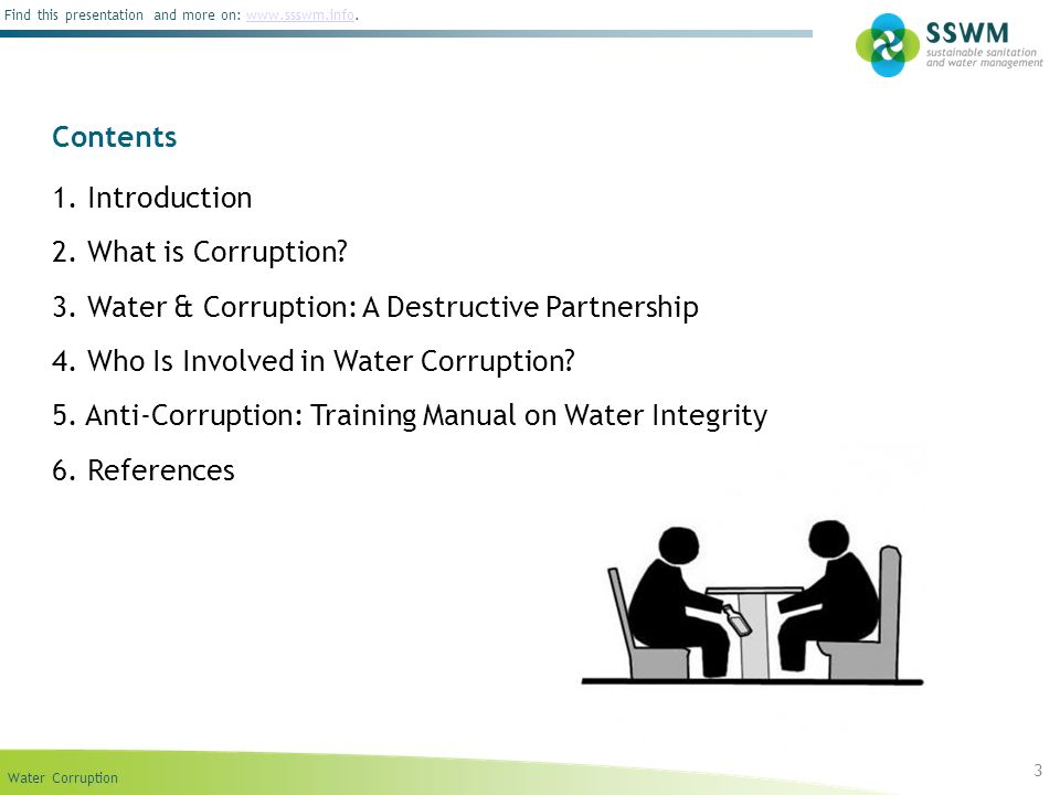 3. Water & Corruption: A Destructive Partnership