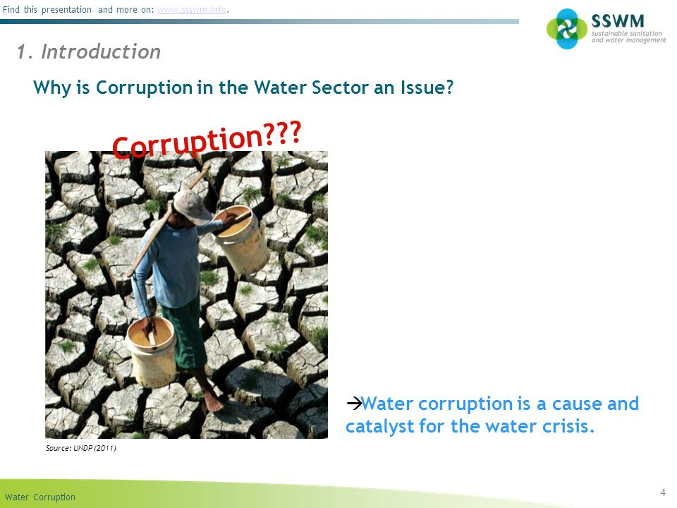 Corruption 1. Introduction