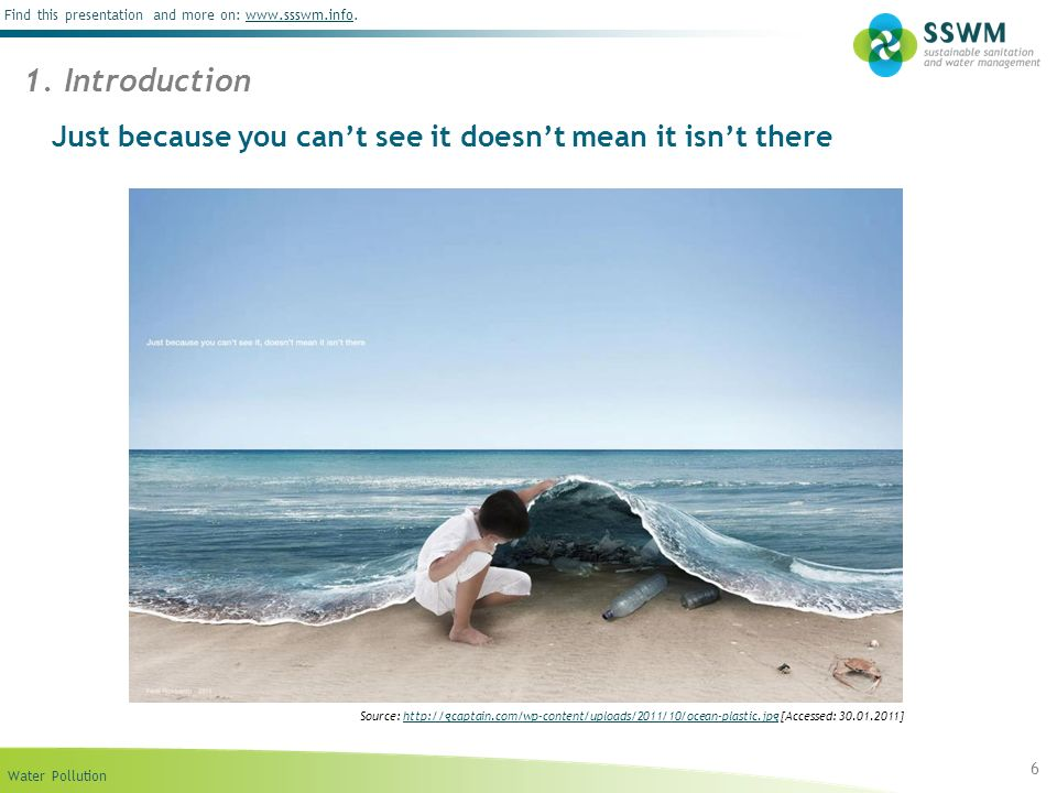 Just because you can't see it doesn't mean it isn't there