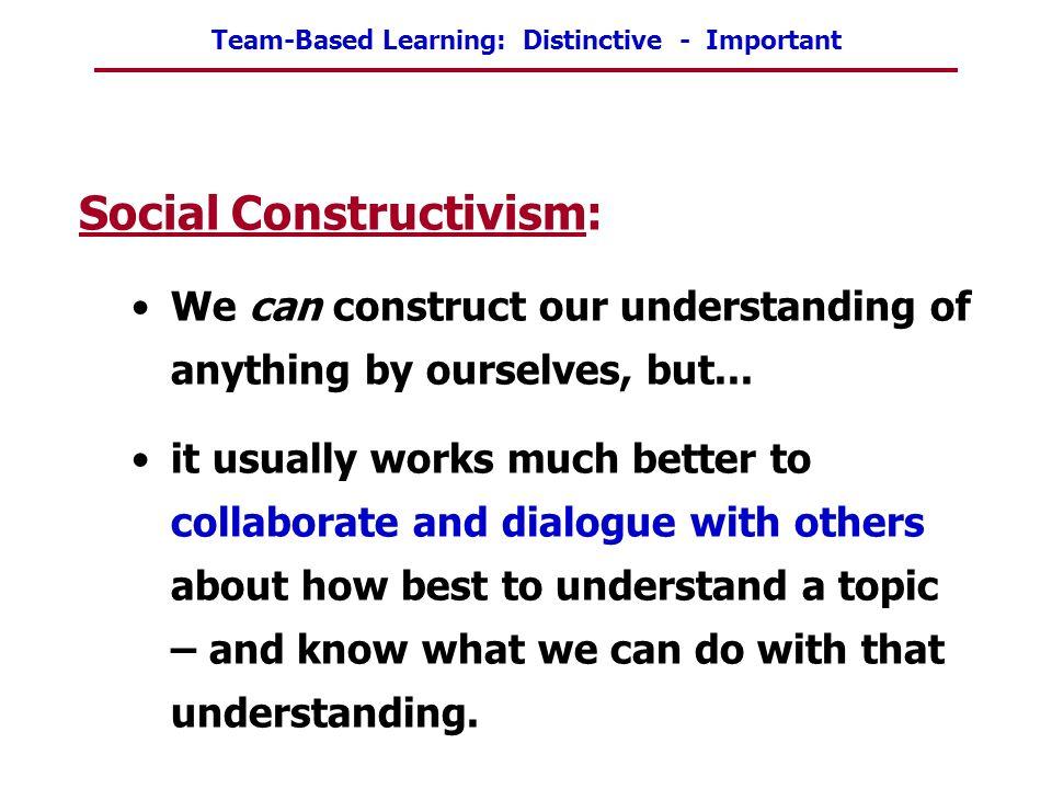 Social Constructivism: