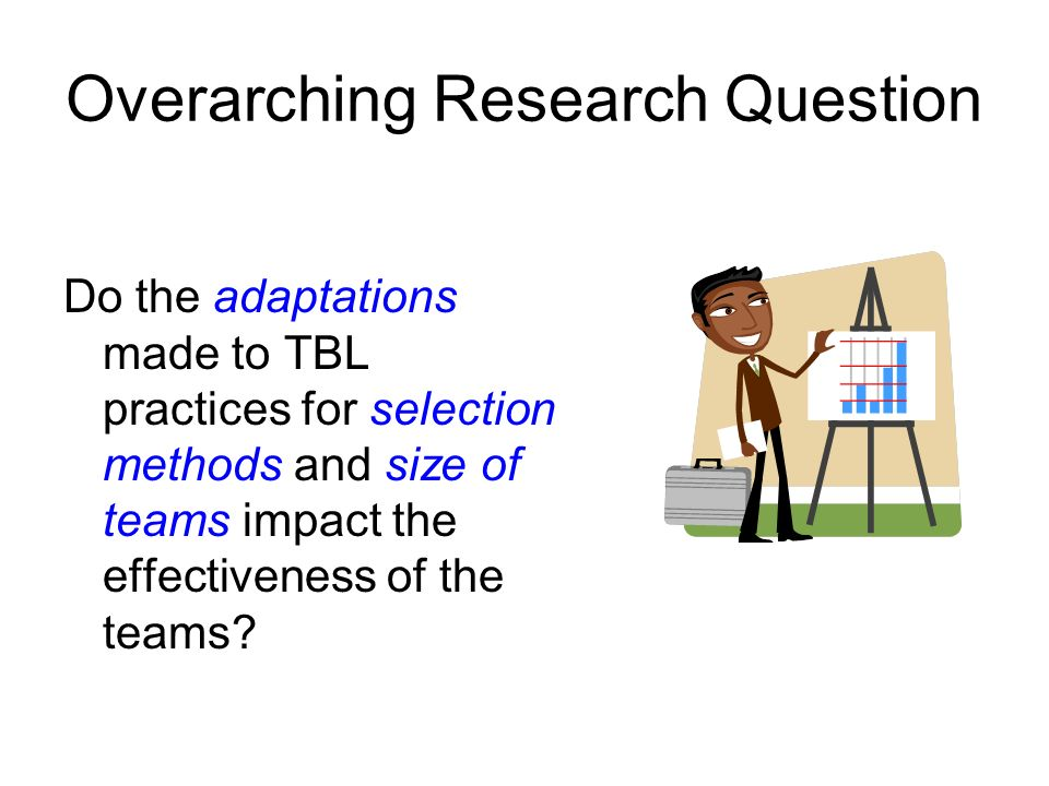Overarching Research Question