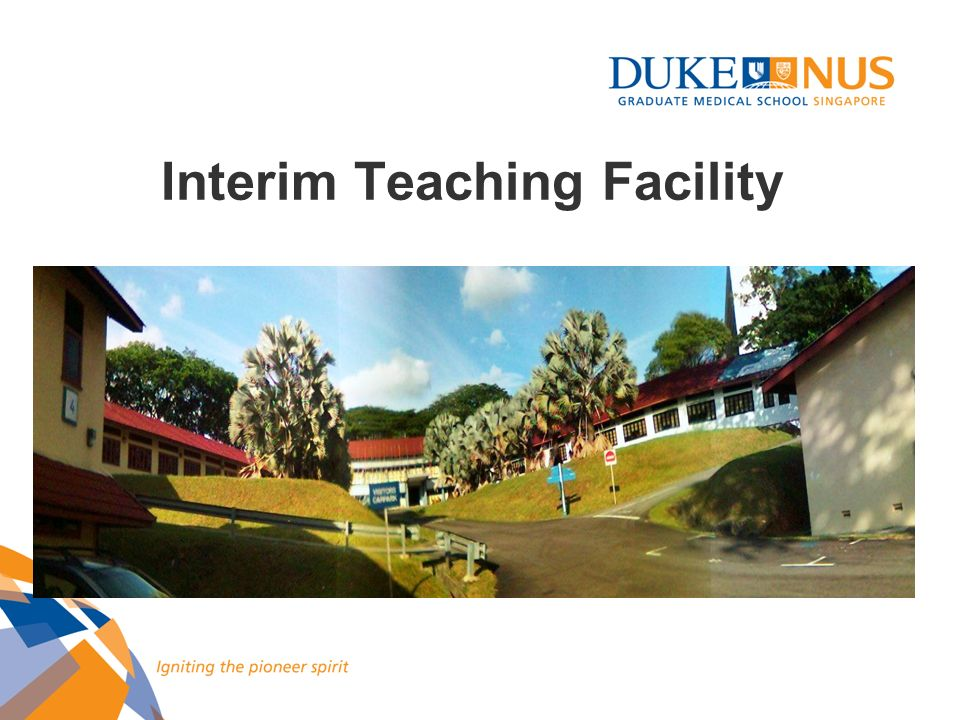 Interim Teaching Facility