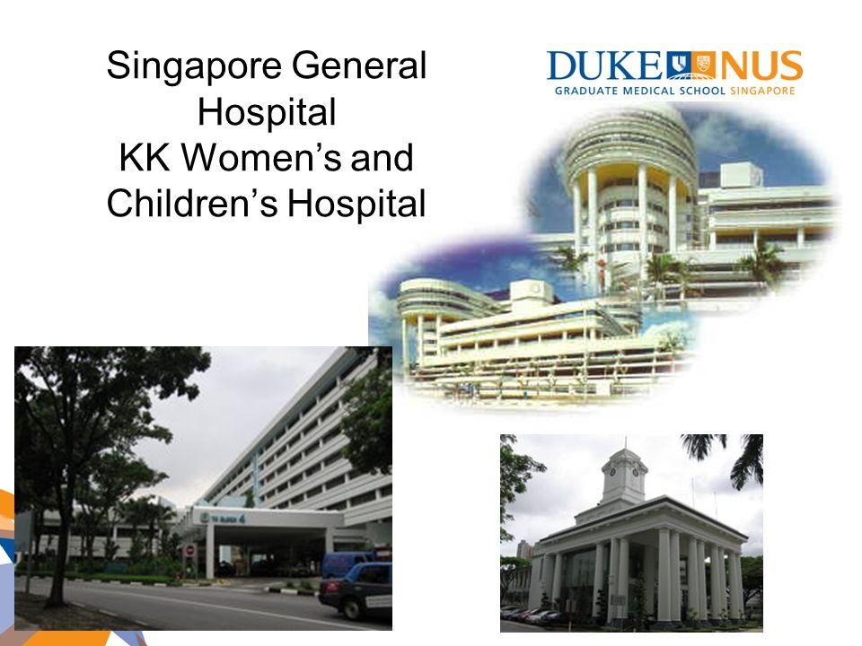 Singapore General Hospital KK Women's and Children's Hospital