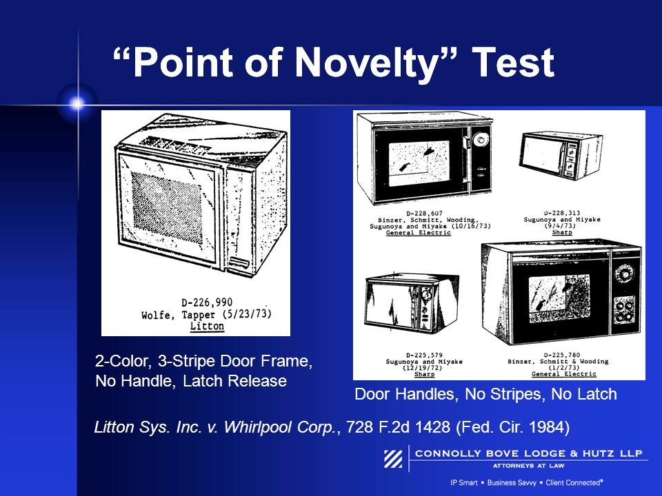 Point of Novelty Test
