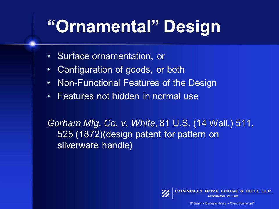 Ornamental Design Surface ornamentation, or