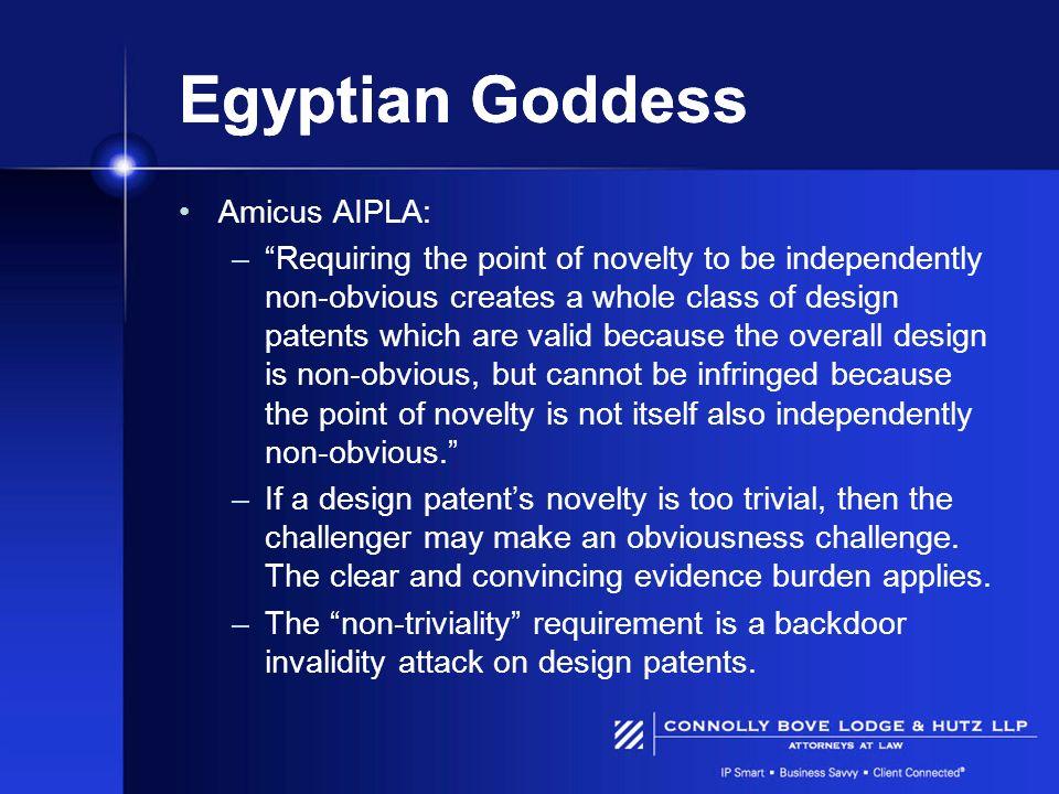 Egyptian Goddess Amicus AIPLA: