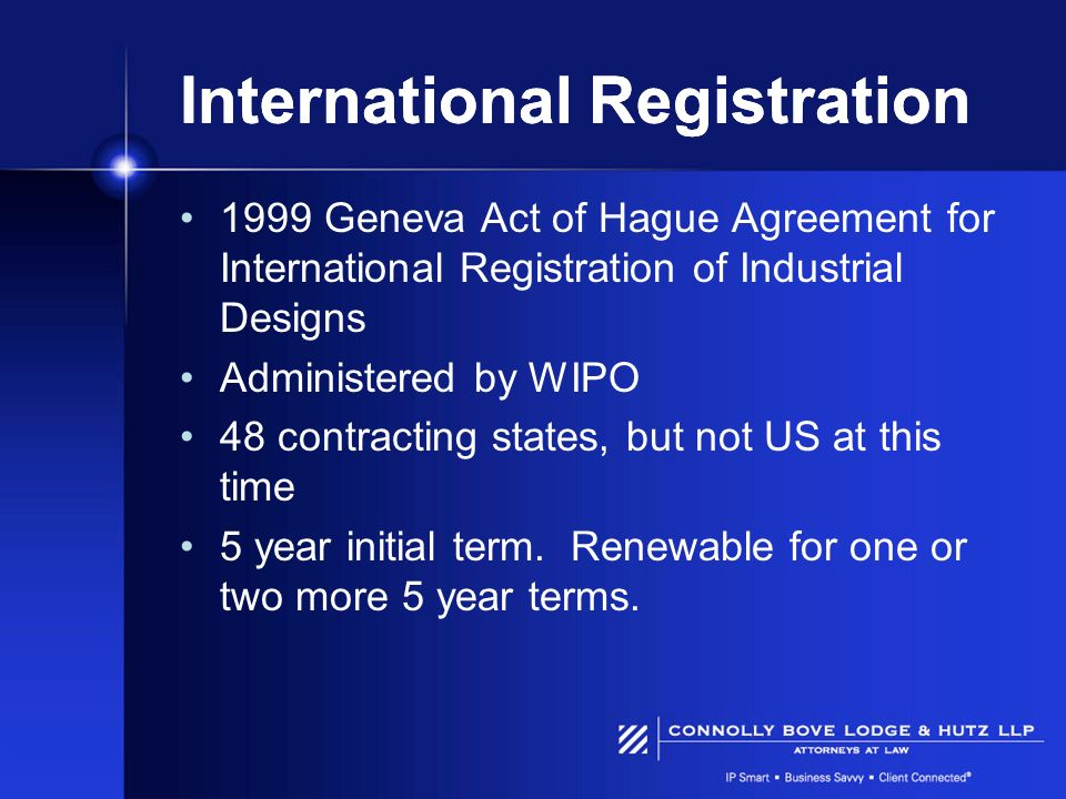 International Registration
