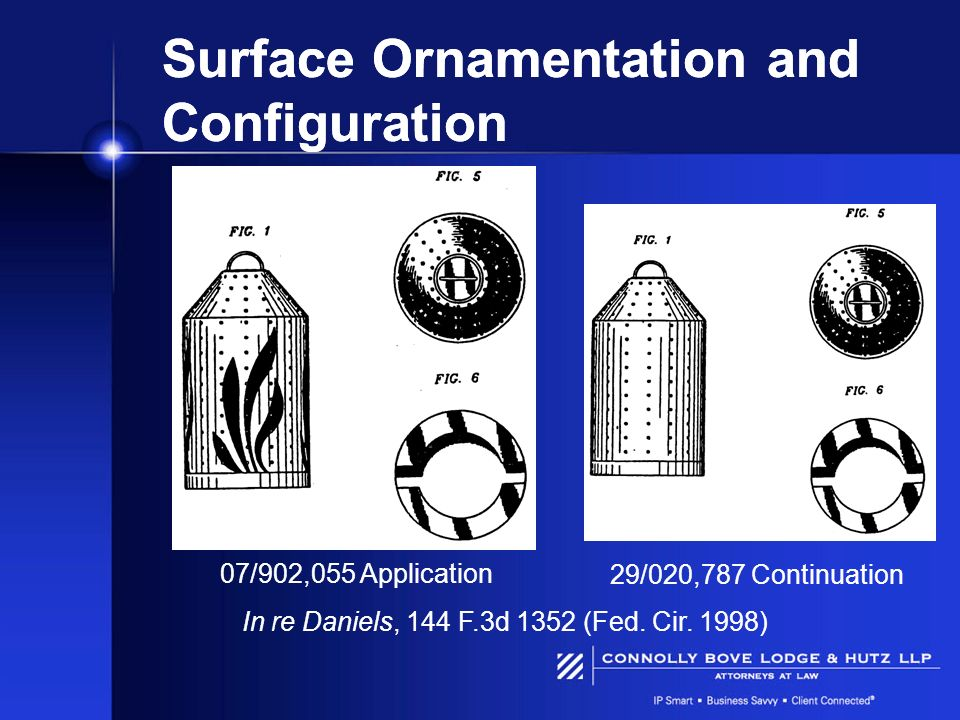 Surface Ornamentation and Configuration
