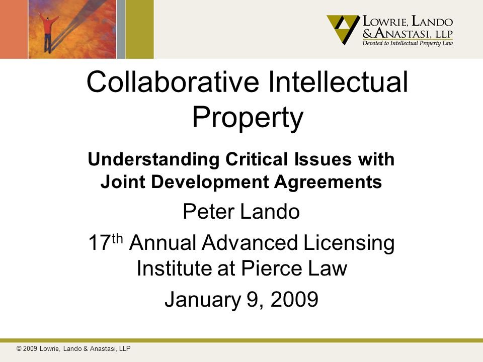 Collaborative Intellectual Property