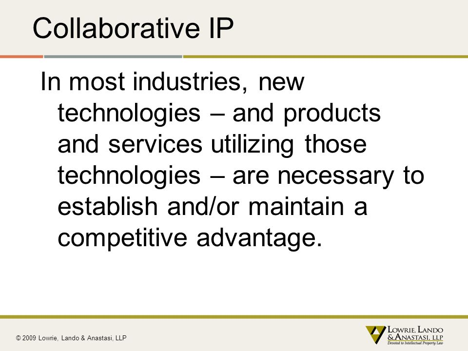 Collaborative IP