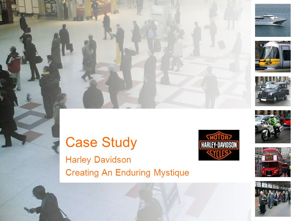 a case study on harley davidson Read how tafe enterprise helped harley-davidson&reg through customised training solutions tafe enterprise provide a range of workplace, classroom and customised.