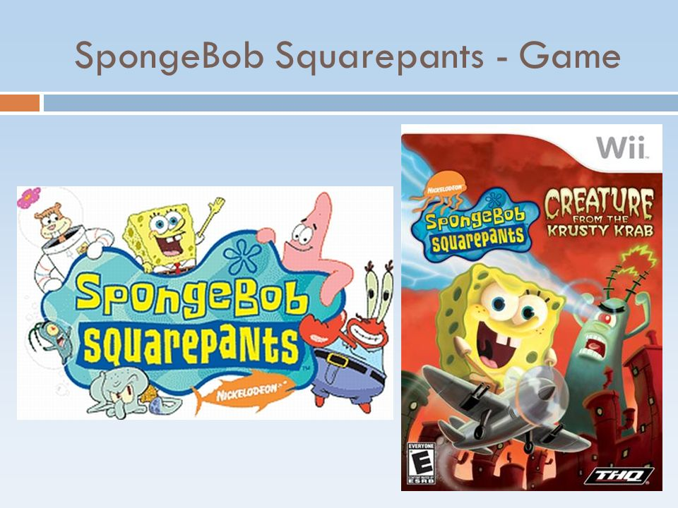 SpongeBob Squarepants - Game