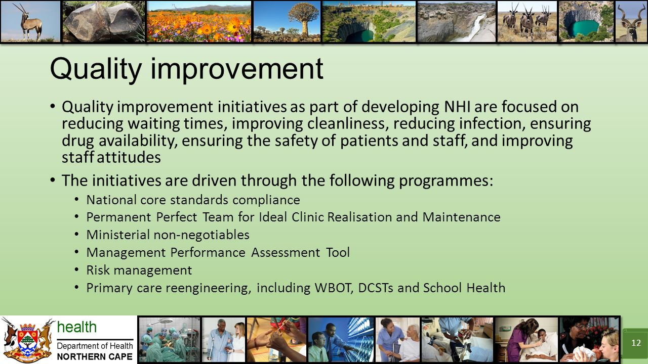 Improvement quality thesis