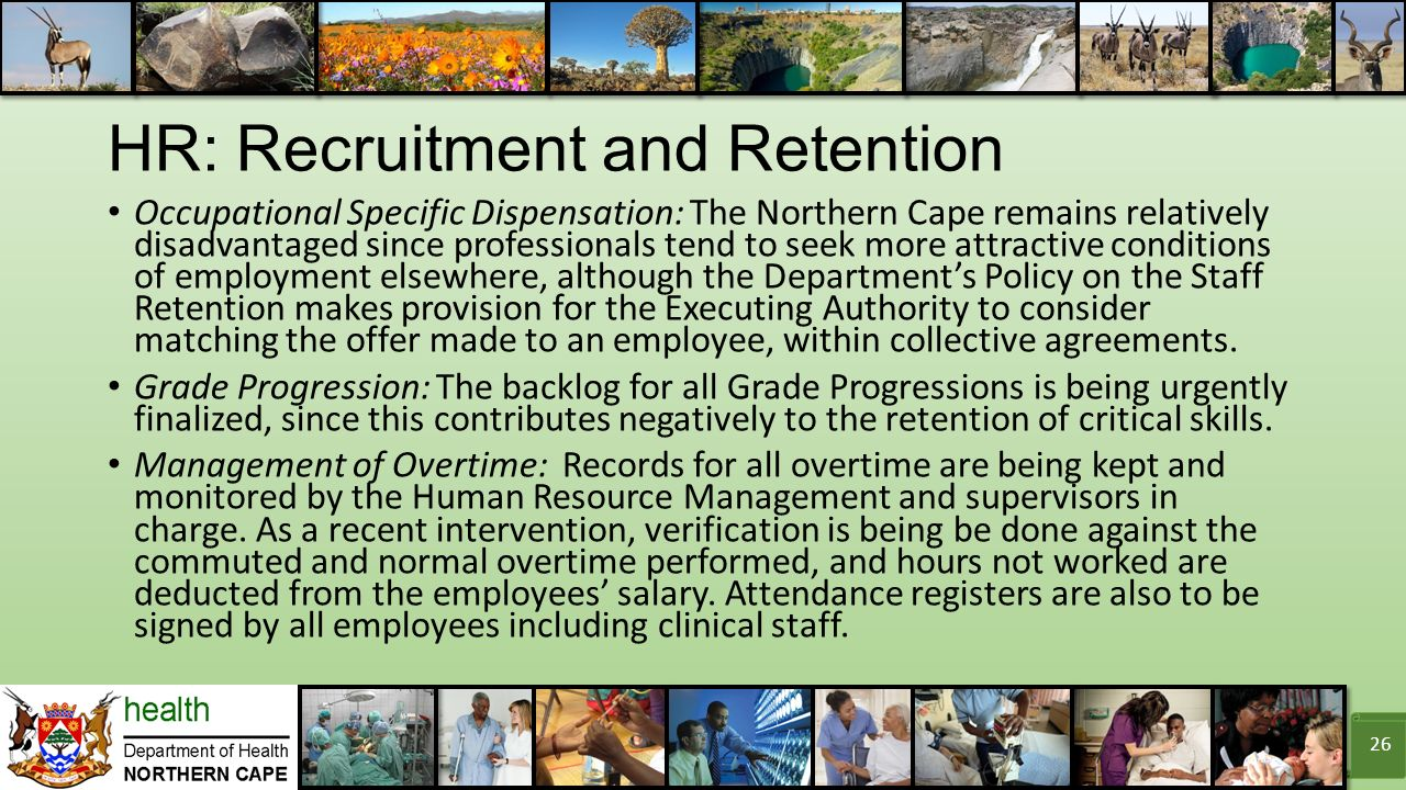challenges of employee recruitment and retention Counties have successfully met the challenges of the workforce in recruitment, retention and retirement with innovative ideas managing a county government's workforce, including the recruitment, retention and retirement of employees, presents unique challenges and opportunities.