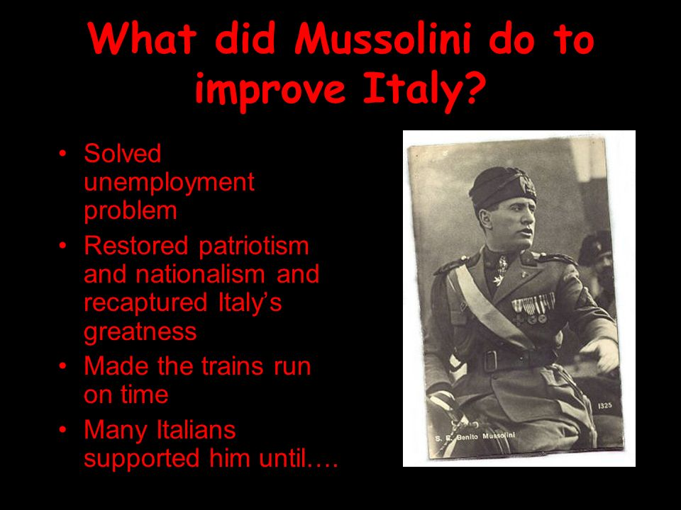 The Rise of Mussolini in Italy - ppt video online download