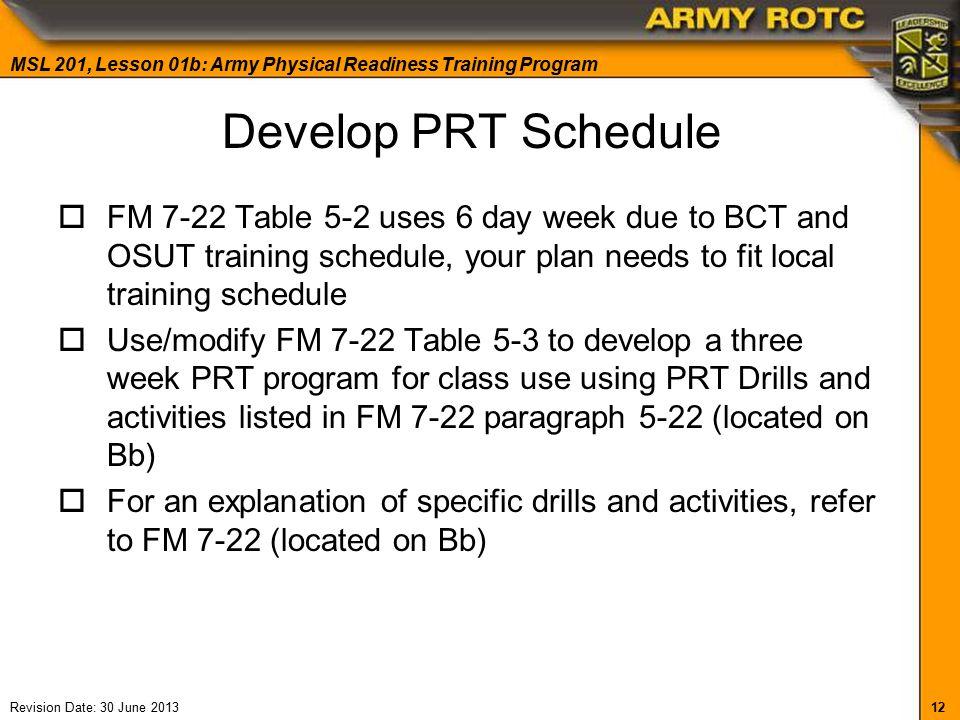 13 week sasr training program pdf
