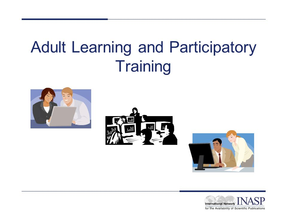 Adult Learning and Participatory Training