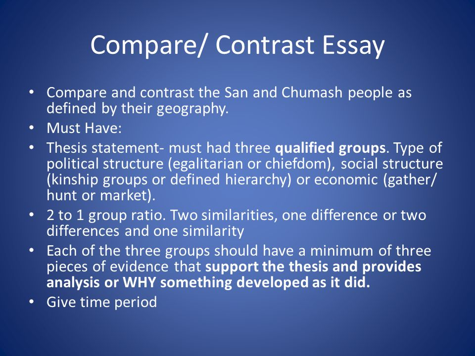 compare contrast essay two jobs have had You have to present about two  writing a compare and contrast essay,  i'm a technical writing addict and i'm considering your job for me with these.