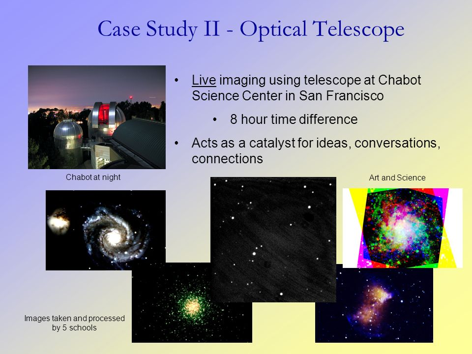 Case Study II - Optical Telescope