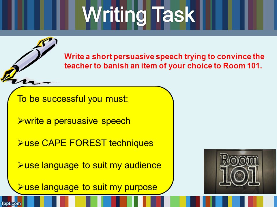 i need help writing a persuasive speech Of course, every student would like to receive top grades for their persuasive speech - and in order to do so, you need to pick a topic right there's a theory in which our essay writing service believes firmly: you need to pick controversial topics for your persuasive speech if you want to achieve the best result.