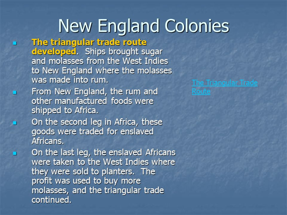 chapter 4 2 triangular trade in the