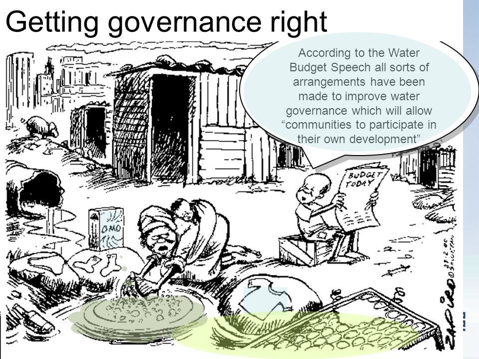 Getting governance right