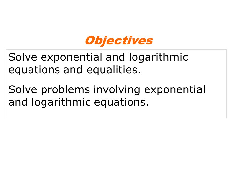 Pictures Of Exponential And Logarithmic Equations Kidskunst Info