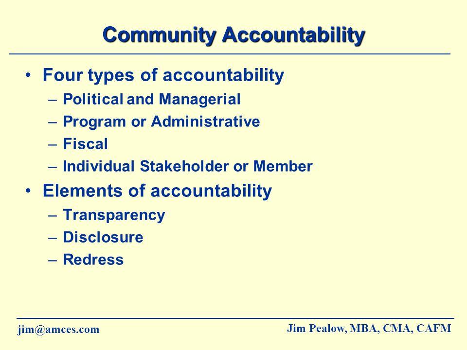 Community Accountability