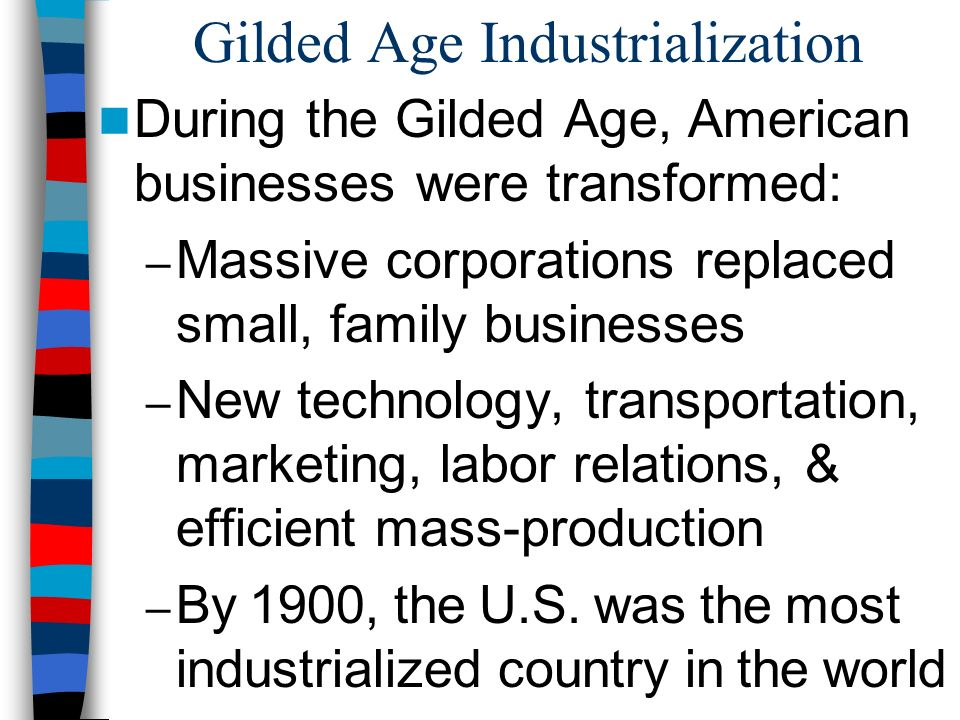 """Essential Question: How did the """"Second Industrial Revolution ..."""