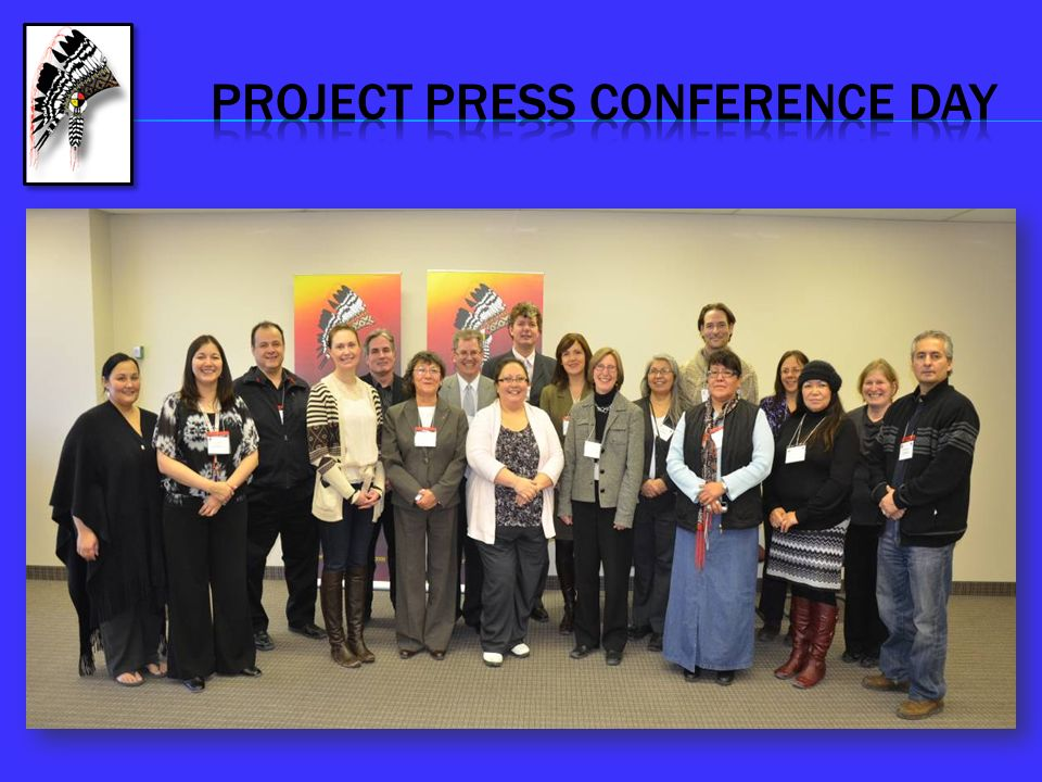 PROJECT PRESS CONFERENCE DAY