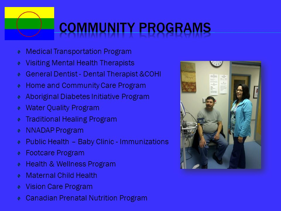 COMMUNITY PROGRAMS Medical Transportation Program