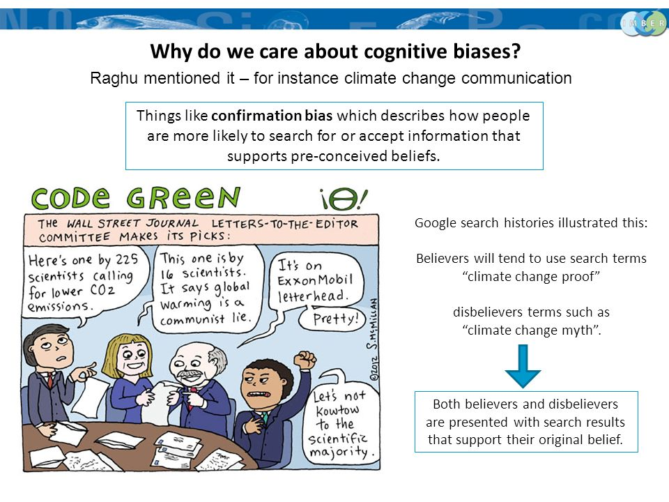 Why do we care about cognitive biases