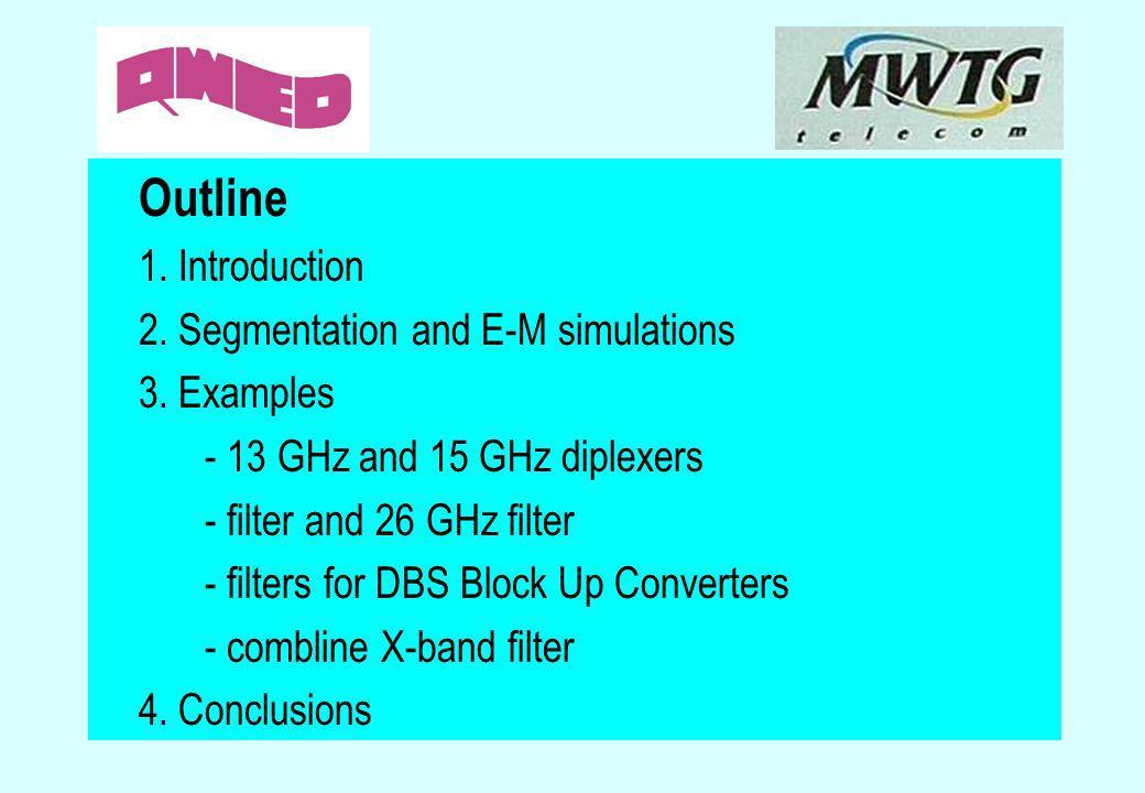 Outline 2. Segmentation and E-M simulations 3. Examples