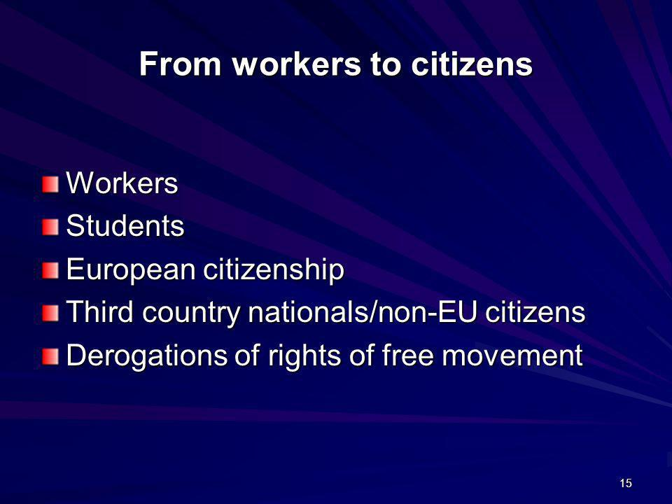 From workers to citizens