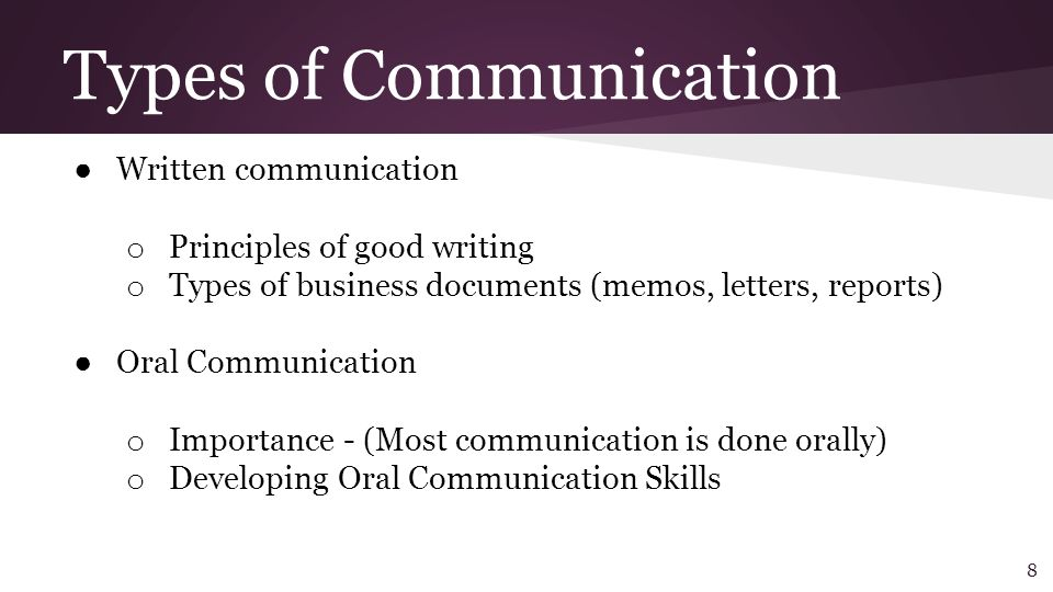 report writiing oral communication skills 4 communications skills to highlight on your résumé oral or written, public composed powerpoint presentation for a nonprofit board of directors and walked.