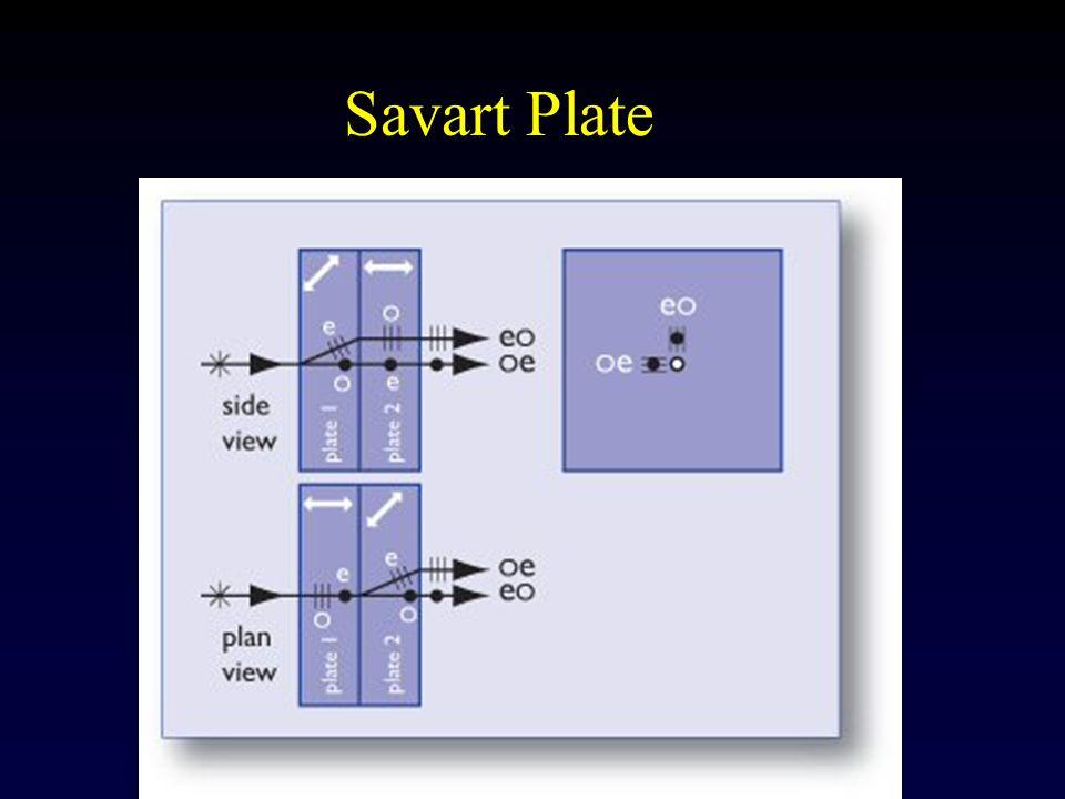 Savart Plate