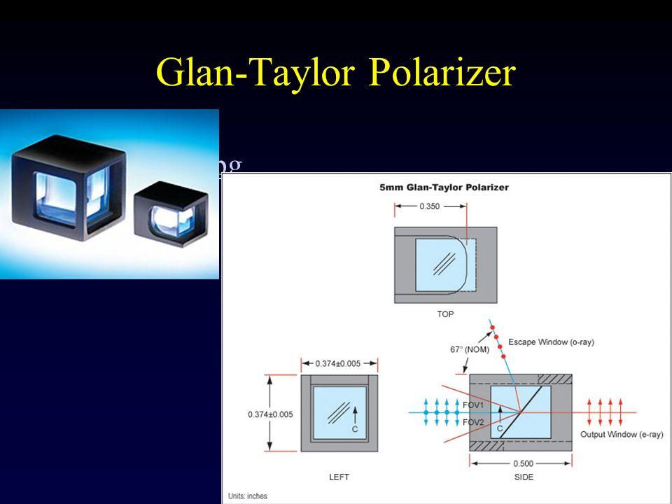 Glan-Taylor Polarizer