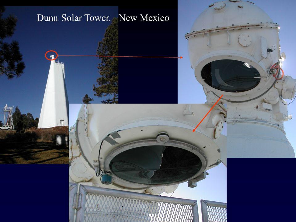Dunn Solar Tower. New Mexico