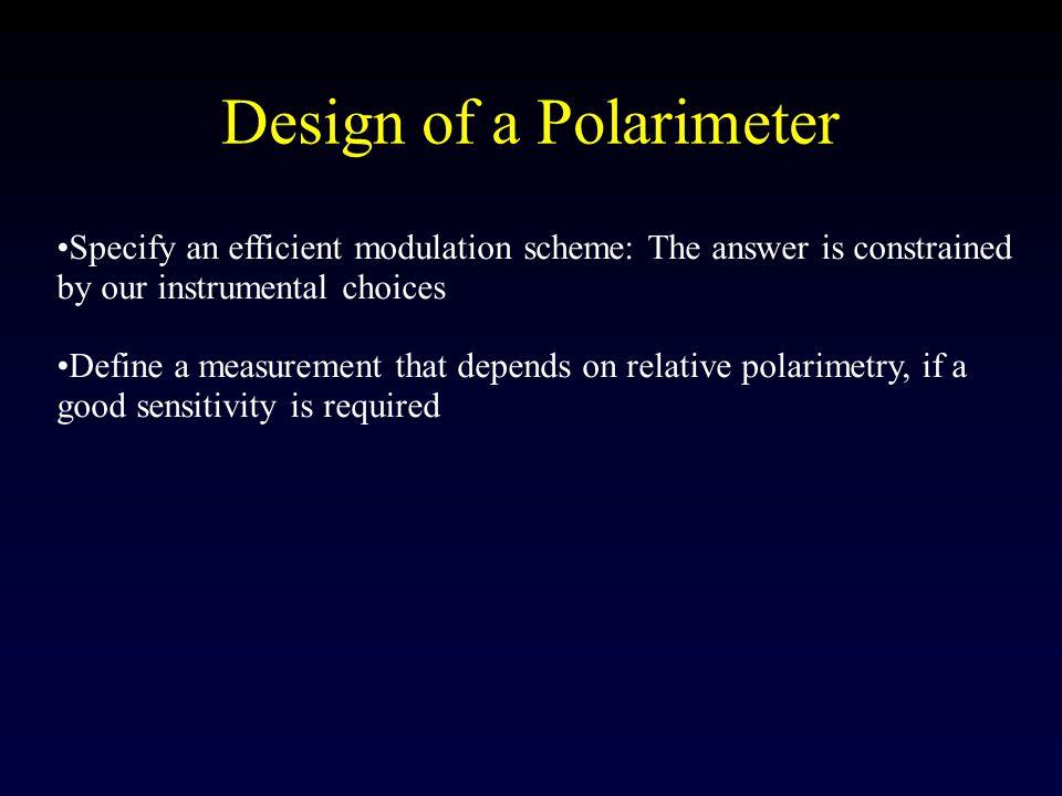 Design of a Polarimeter
